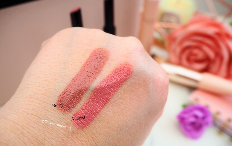 New Launch Hydralux Honey Sticks Lipstick Duo swatches