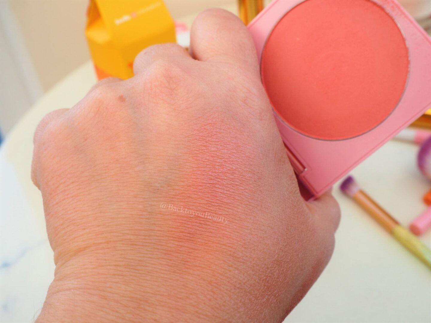 Blush in the shade Soul Mate swatch
