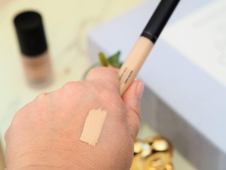 Gen Nude Eyeshadow Primer in Exposed swatch