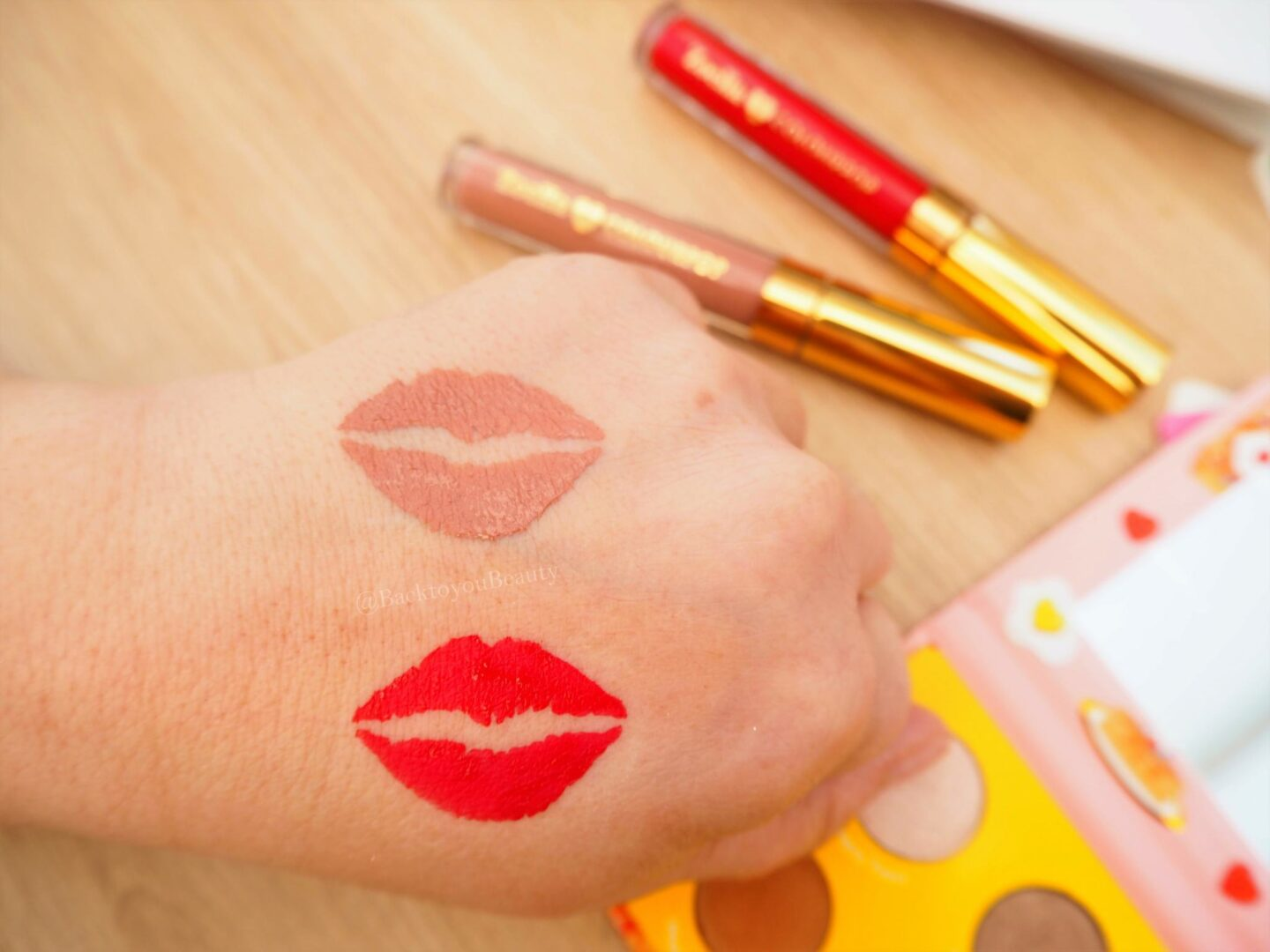 Zoella x colourpop liquid lips