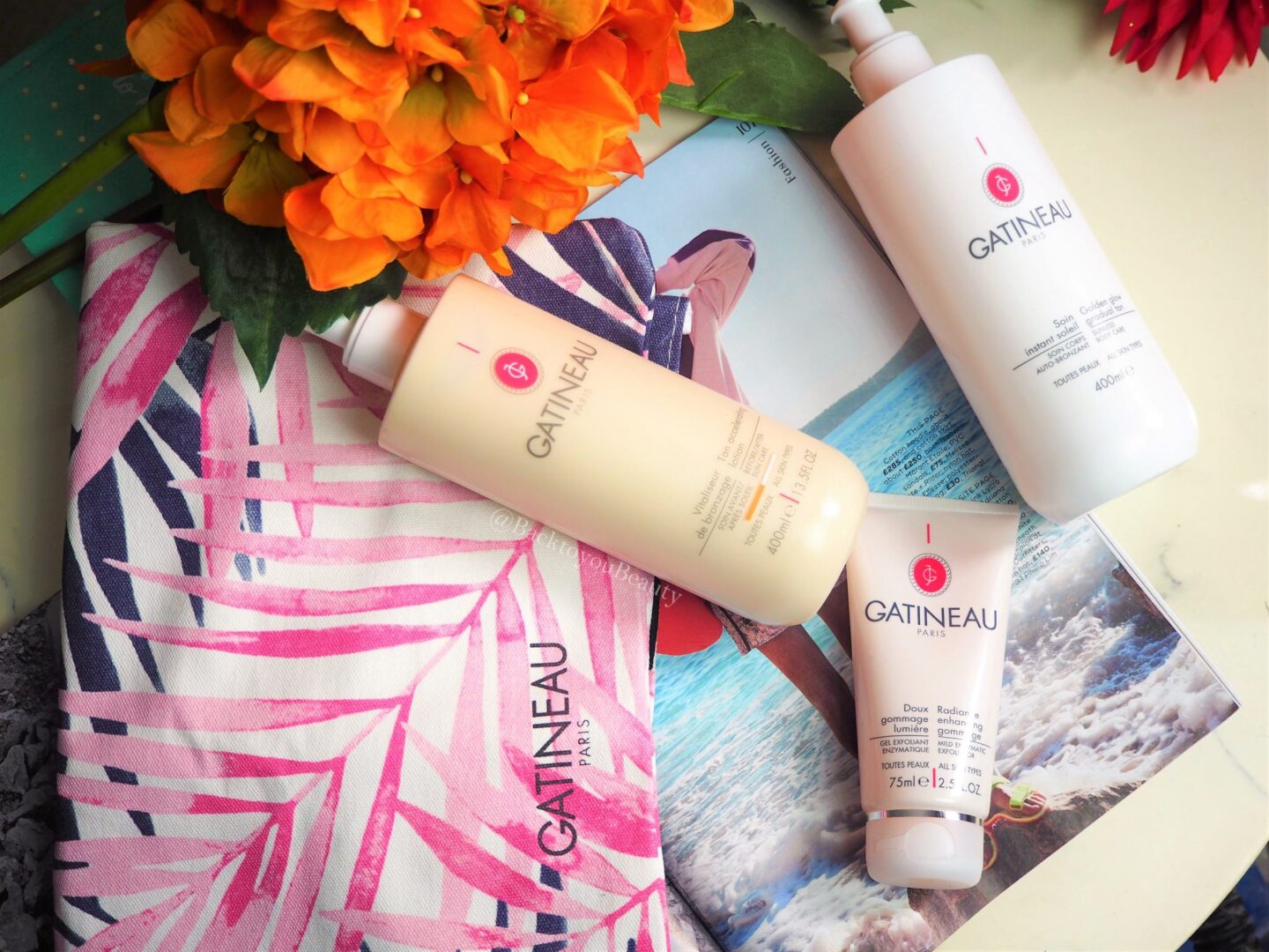 Glow with Gatineau! Radiant Summer Skincare Collection April tsv