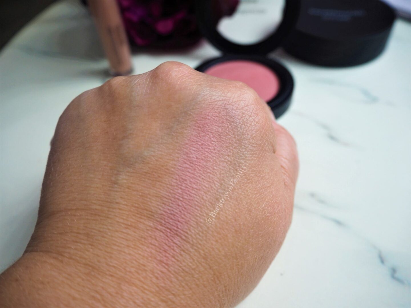 bareminerals gen nude blush in call my blush