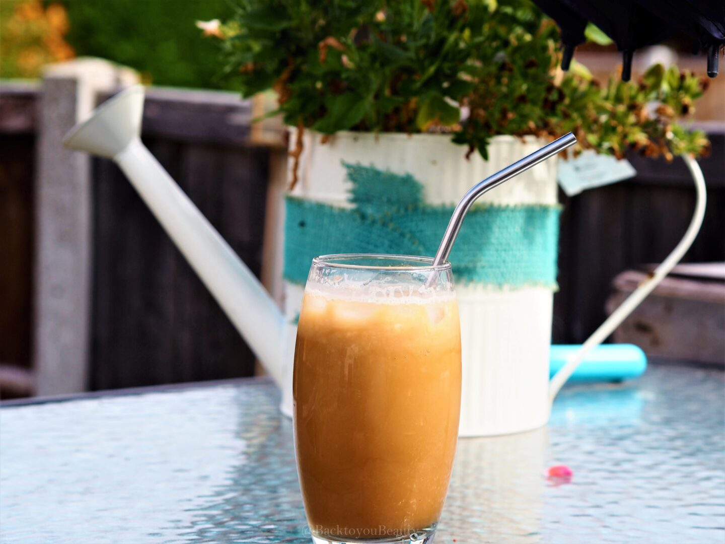 Eden Project Iced Latte