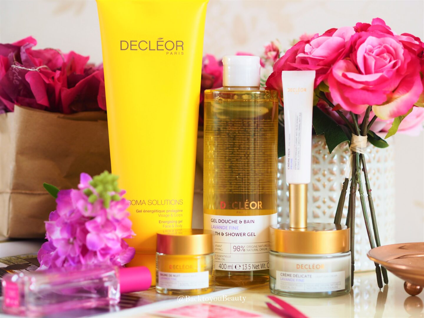 Decleor Firming and Energising 5 piece skincare collection - QVCUK TSV
