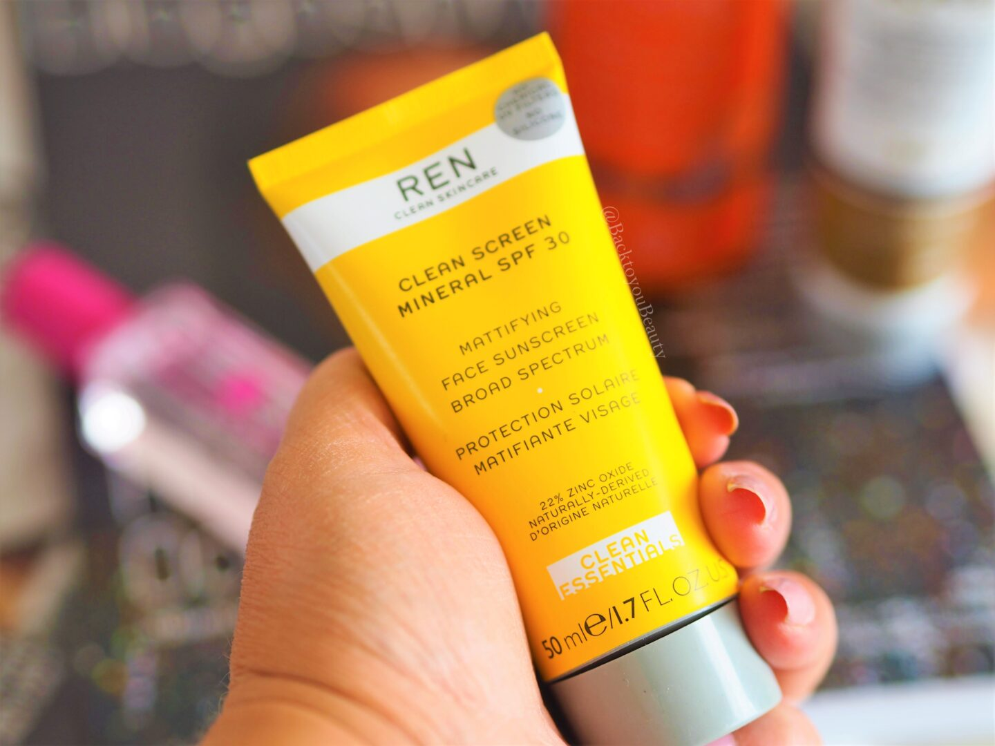 REN Clean Screen Mineral SPF