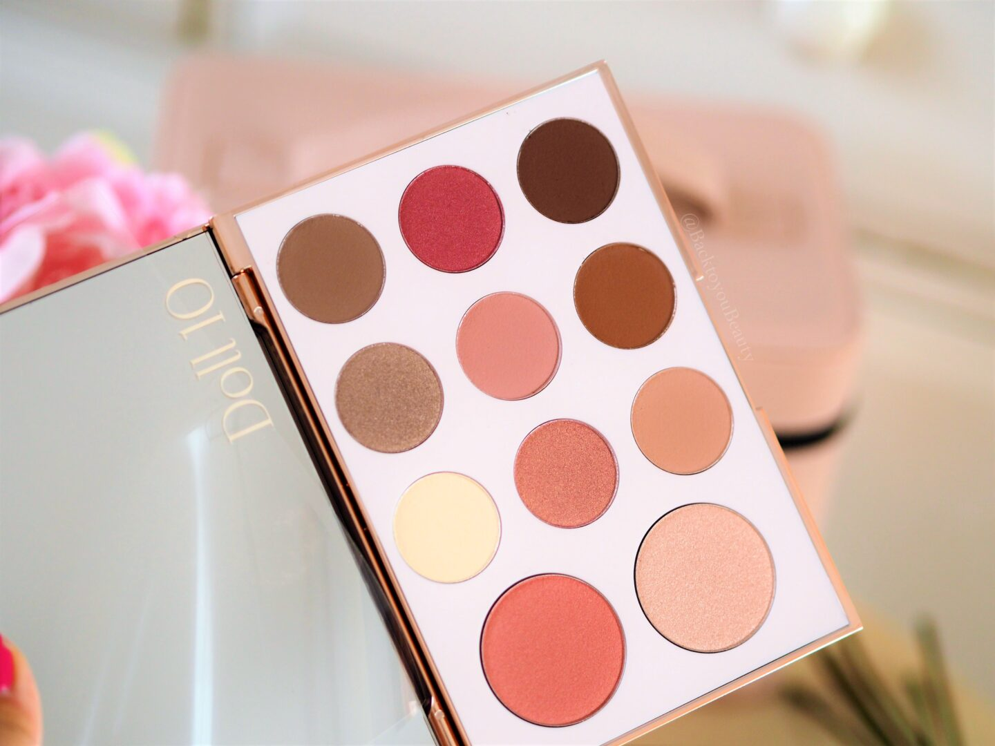 Doll 10 The Rose Radiance Palette