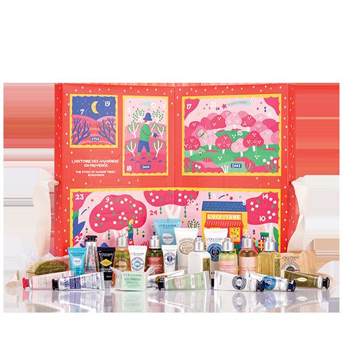 L')ccitaine classic beauty advent calendar
