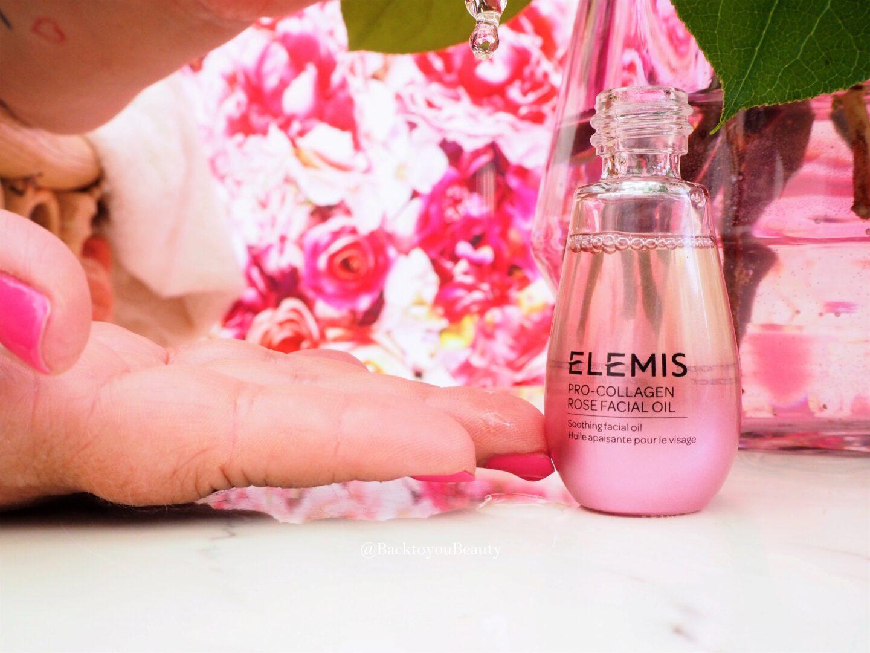 New Elemis Pro collagen rose oil