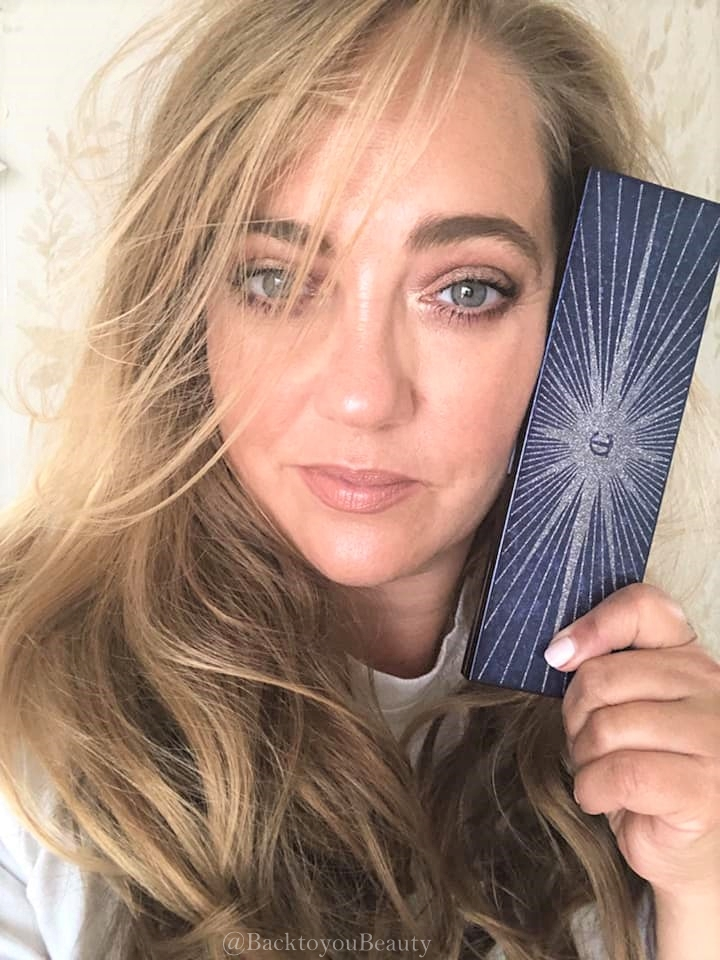 Wearing charlotte tilbury starry eyes to hypnotise