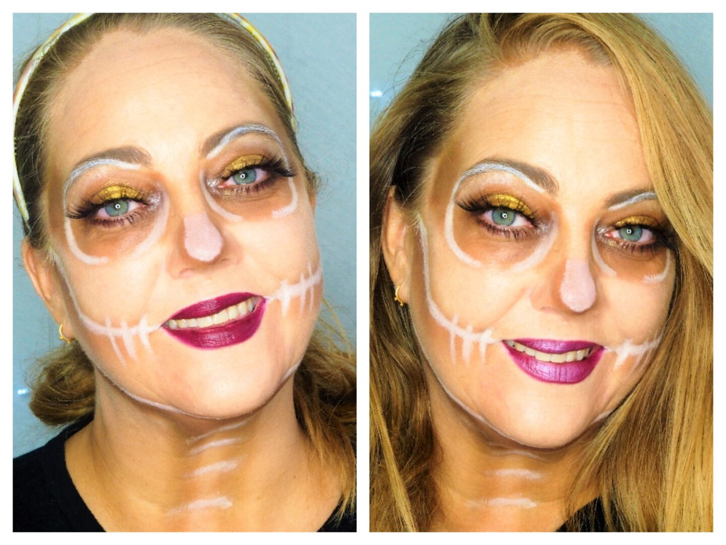 Back to you Beauty Soft Glam halloween look