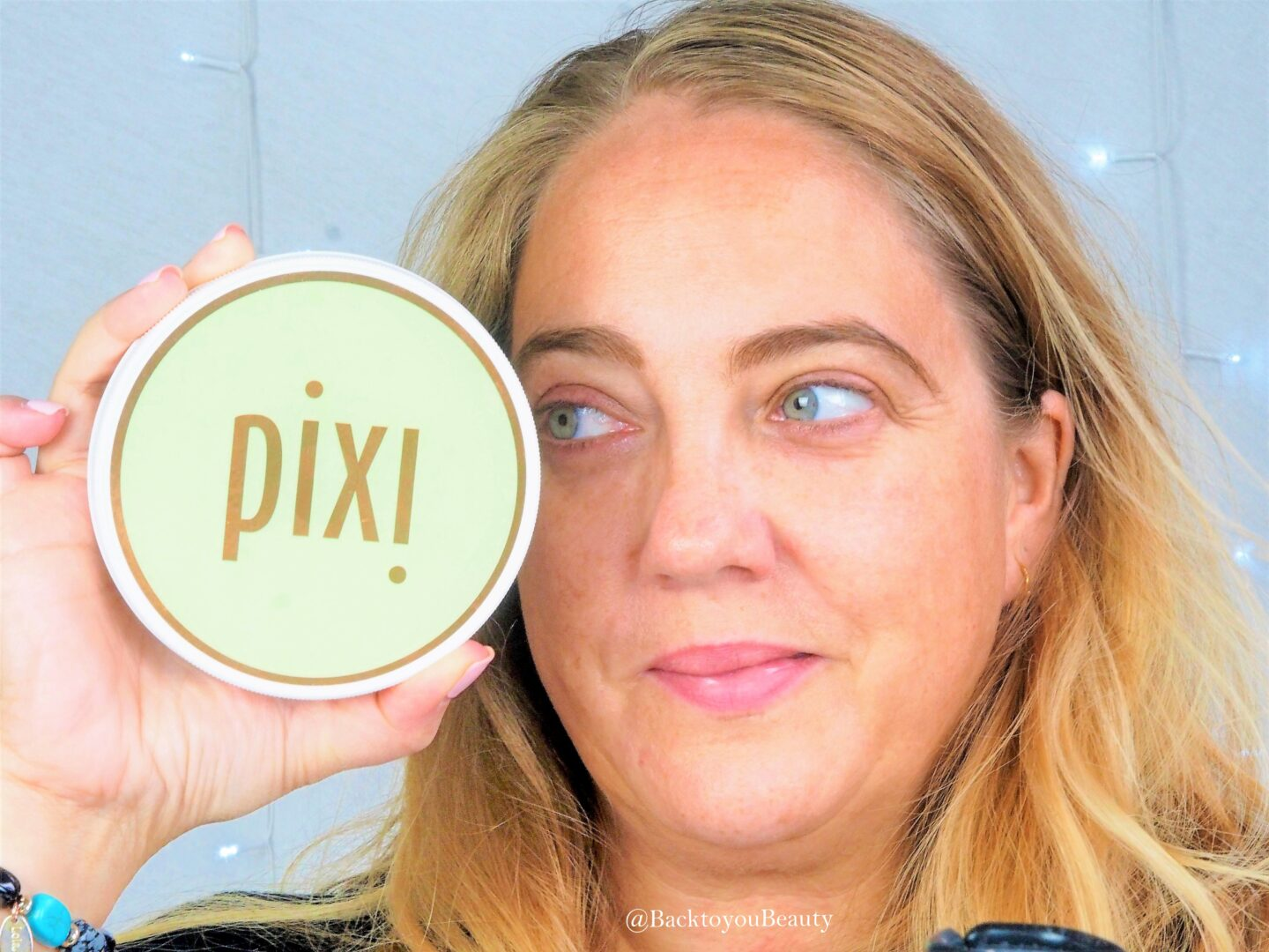 Back to you beauty wearing pixi skincare
