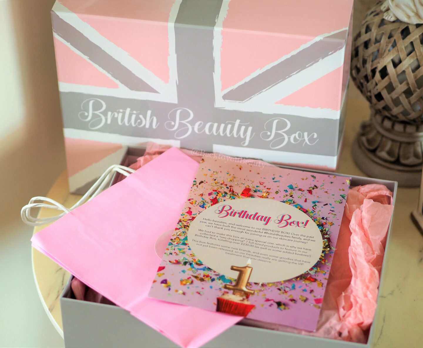 British beauty box birthday box