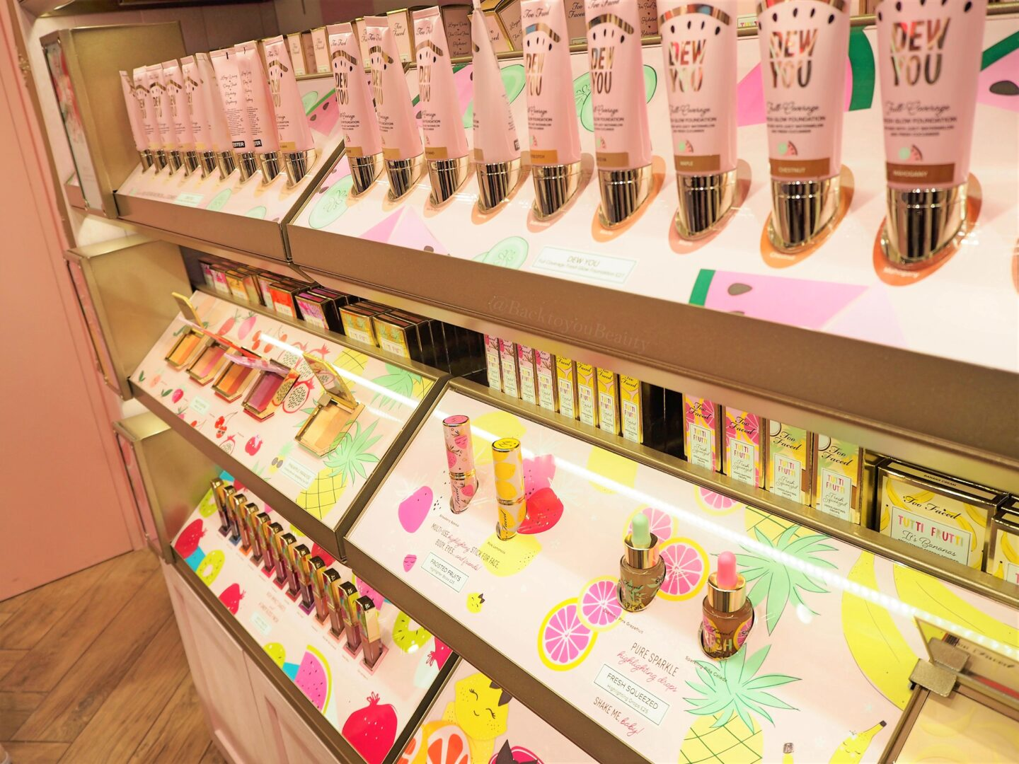 too faced shop westfield