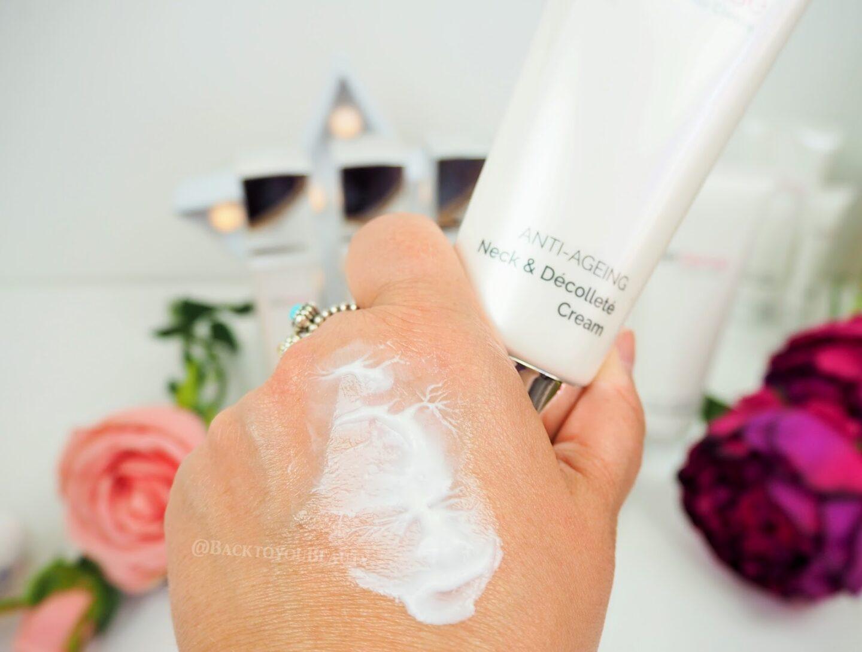skinsense nec & decollete cream