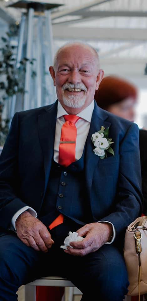 Dad Smiling