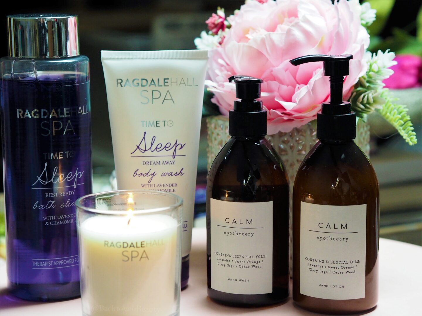 m&S sleep and calm products