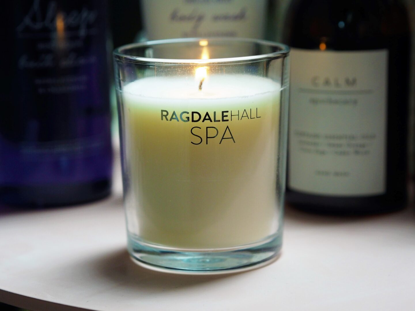 ragdale hall spa sleep candle