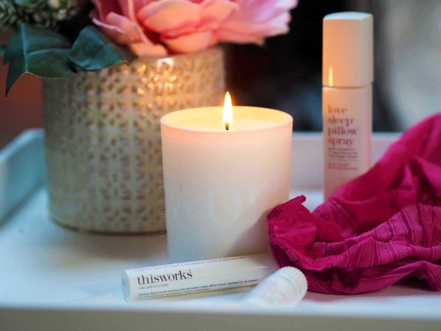 This Works love sleep candle