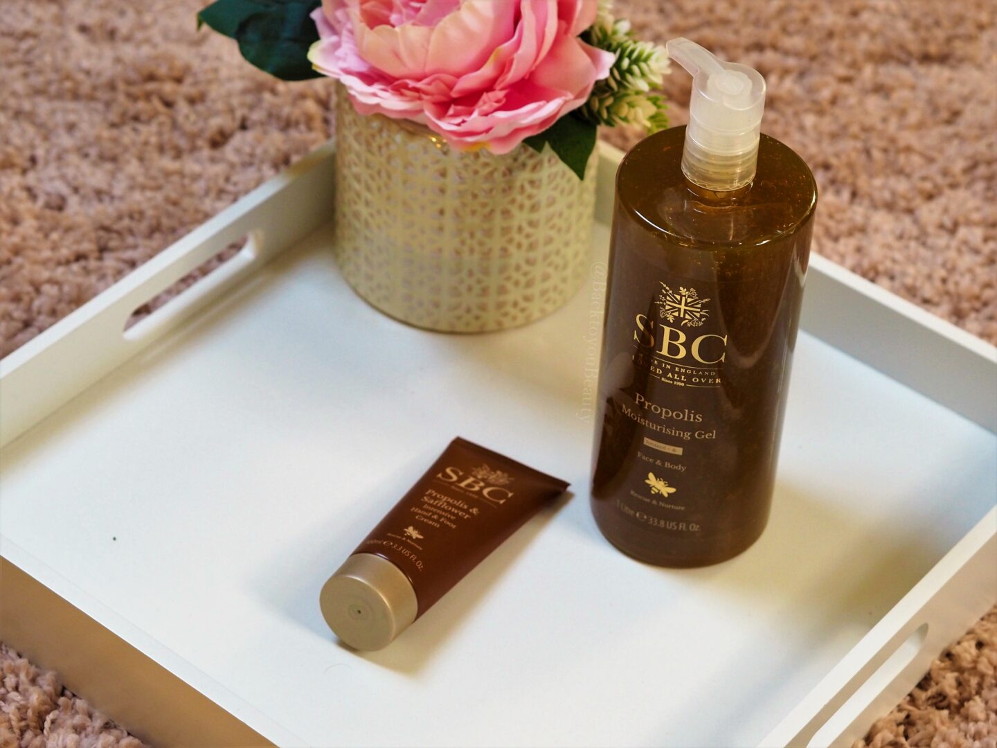 sbc propolis gel and handcream
