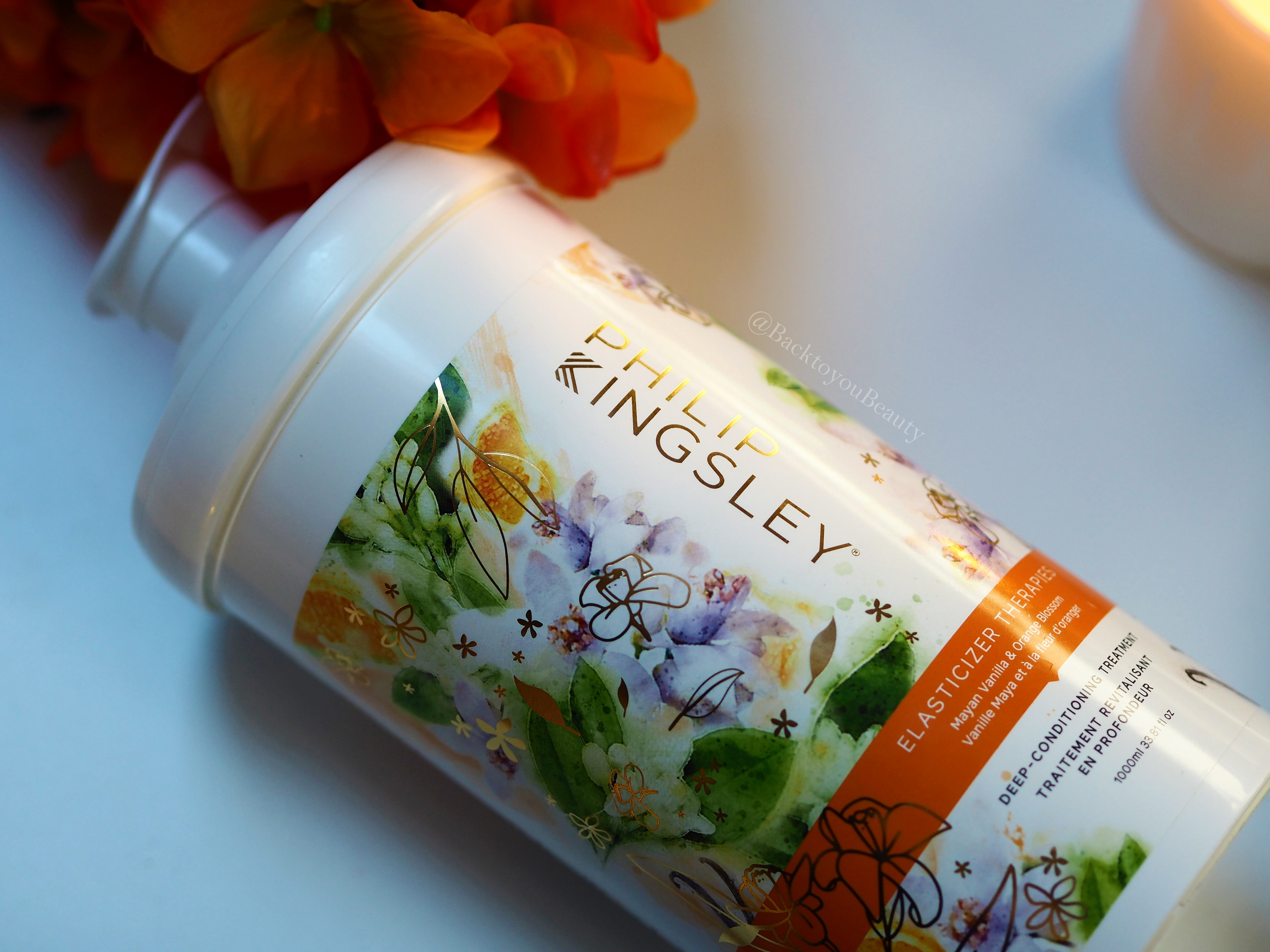 Philip Kingsley 1 litre Mayan Vanilla and Orange Blossom Elasticizer