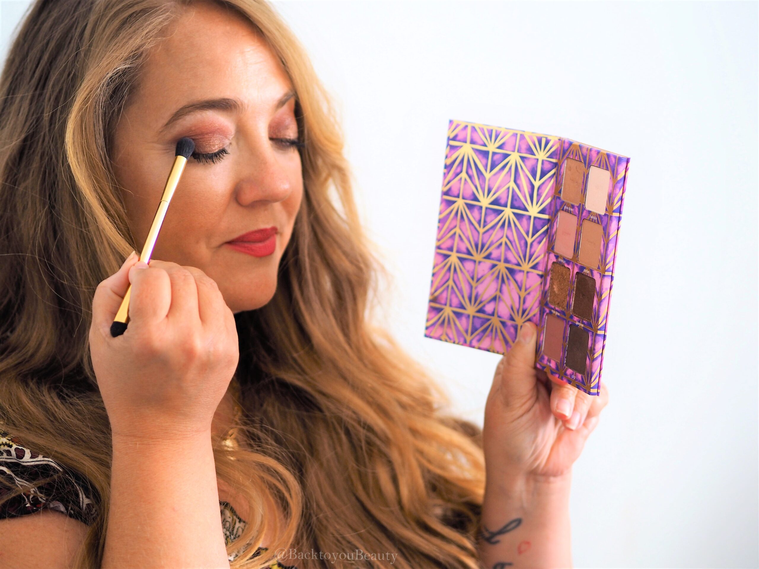 Apply tarte designed to shine palette