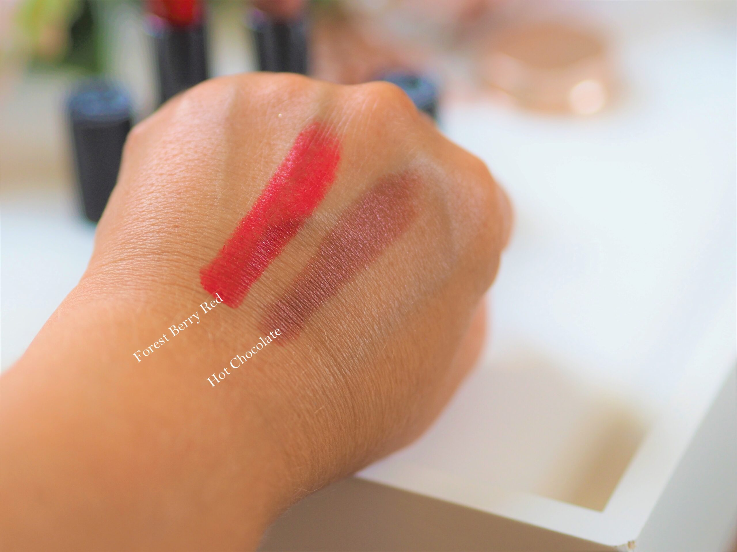 Antipodes swatches
