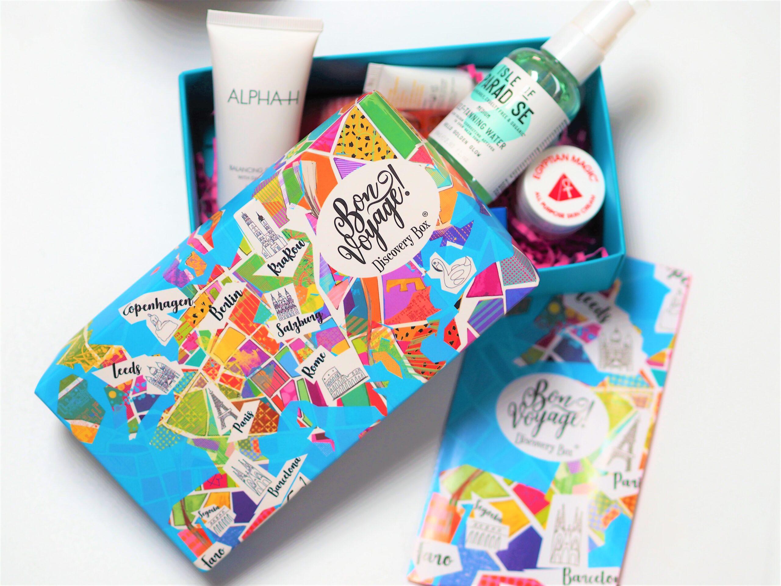 Bon Voyage Beauty Box