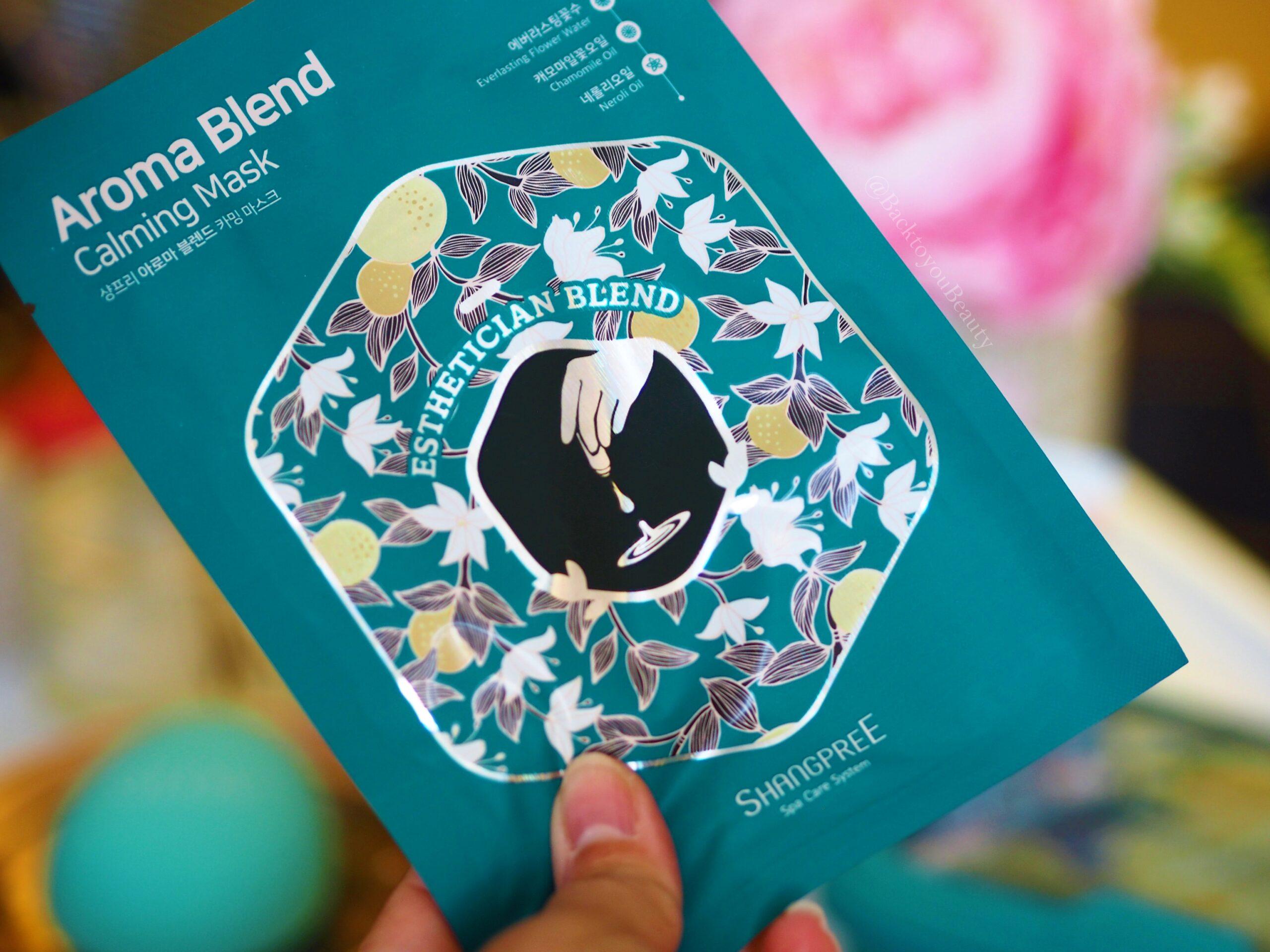 Shangpree Aroma Blend Calming Sheet Mask