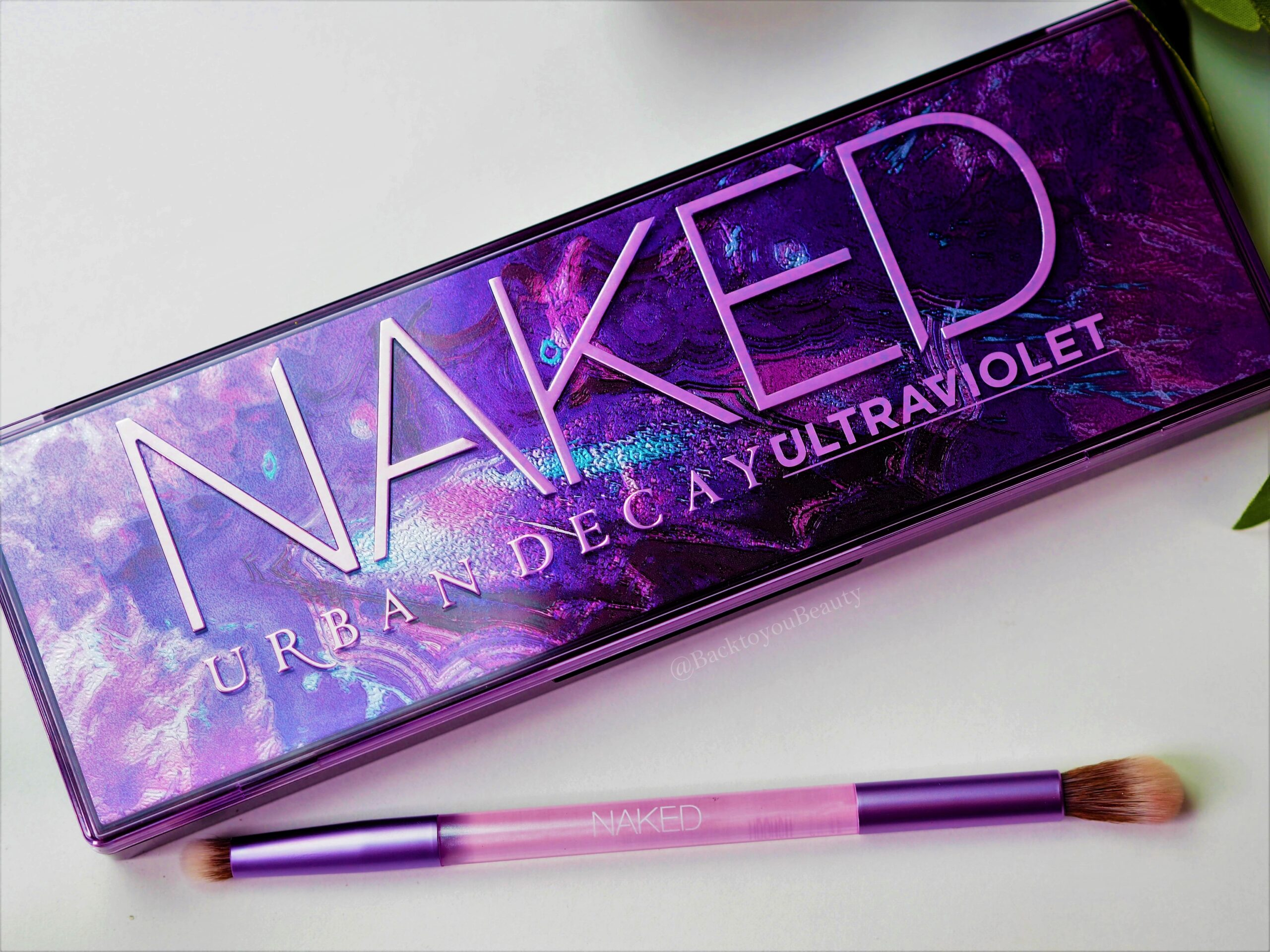 NEW! Urban Decay Naked UltraViolet Palette - Back To You