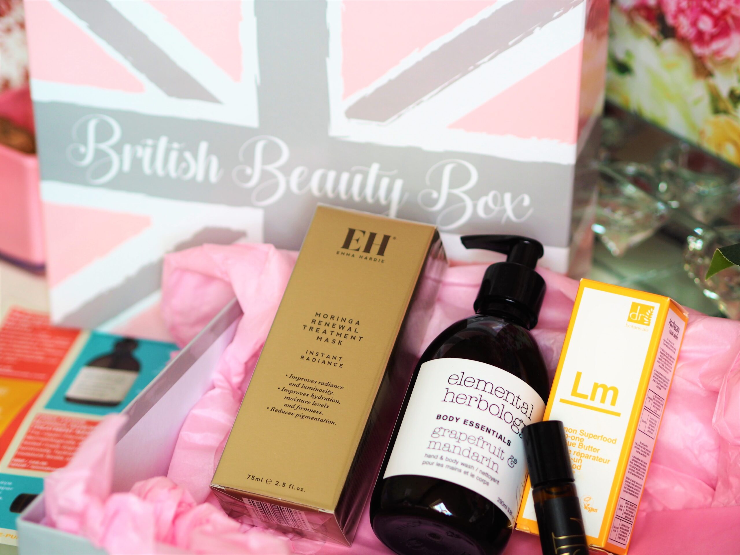 Summer British Beauty Box