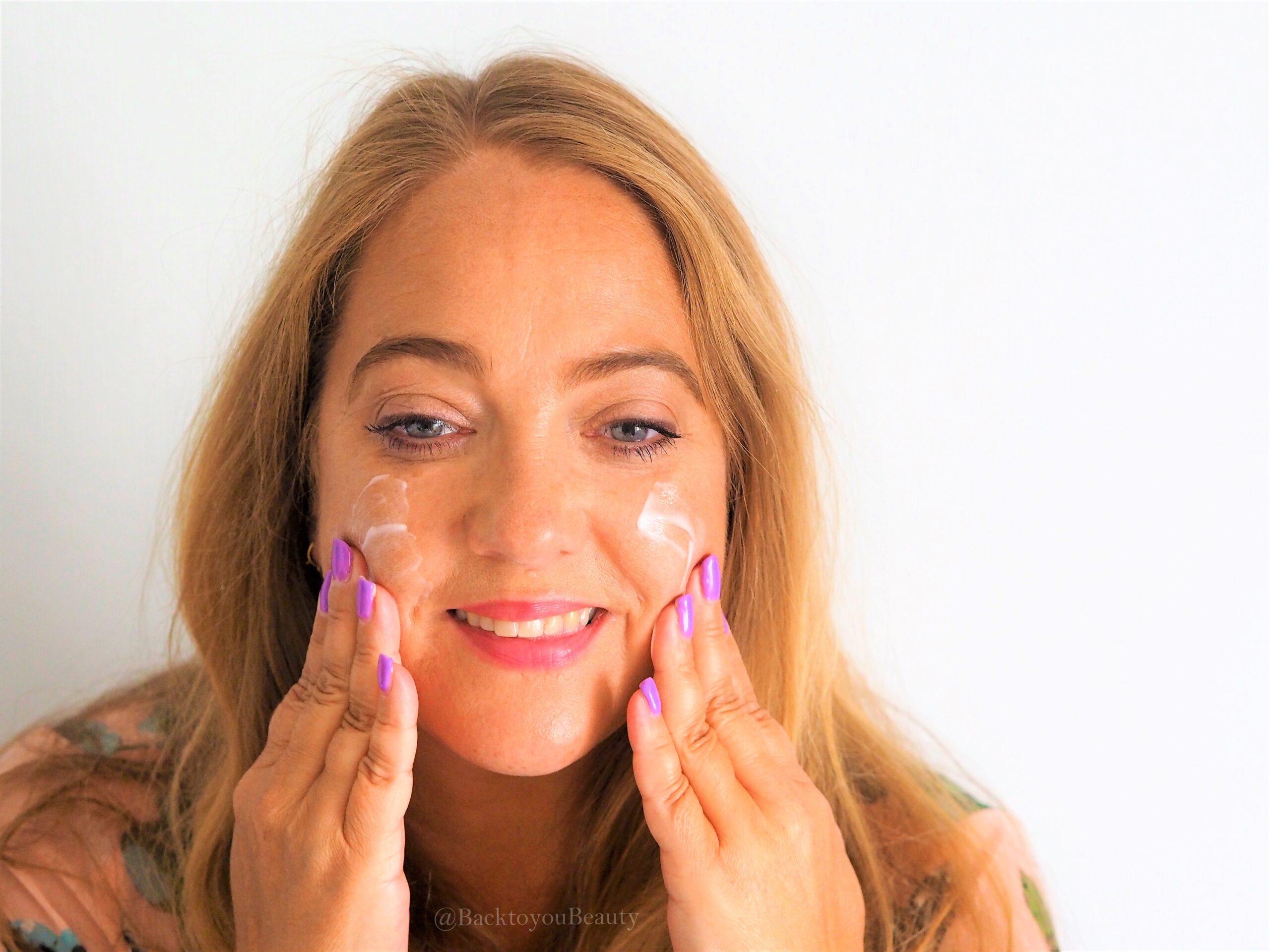 hydra collagen serum application