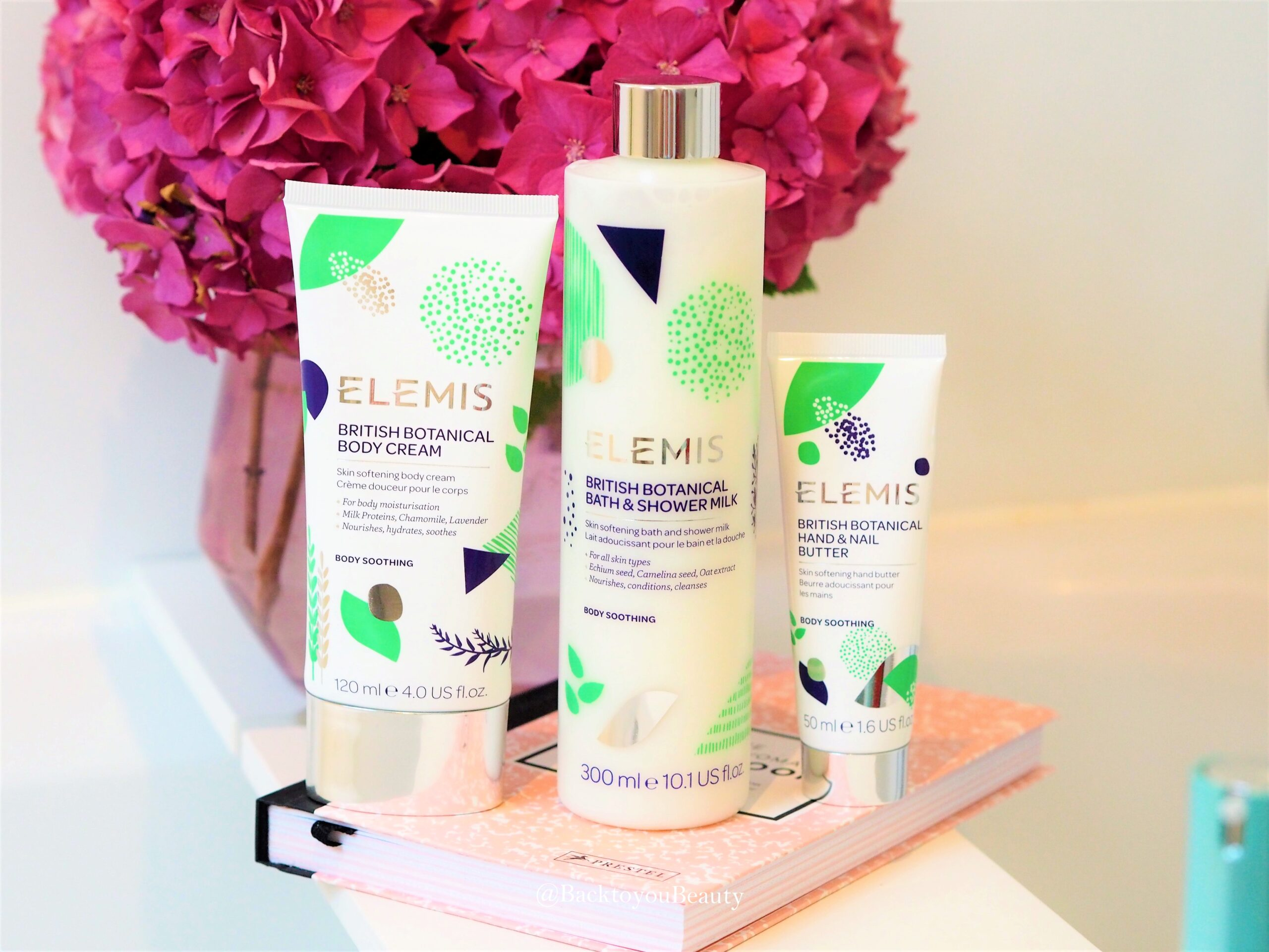 Elemis British Botanicals Collection