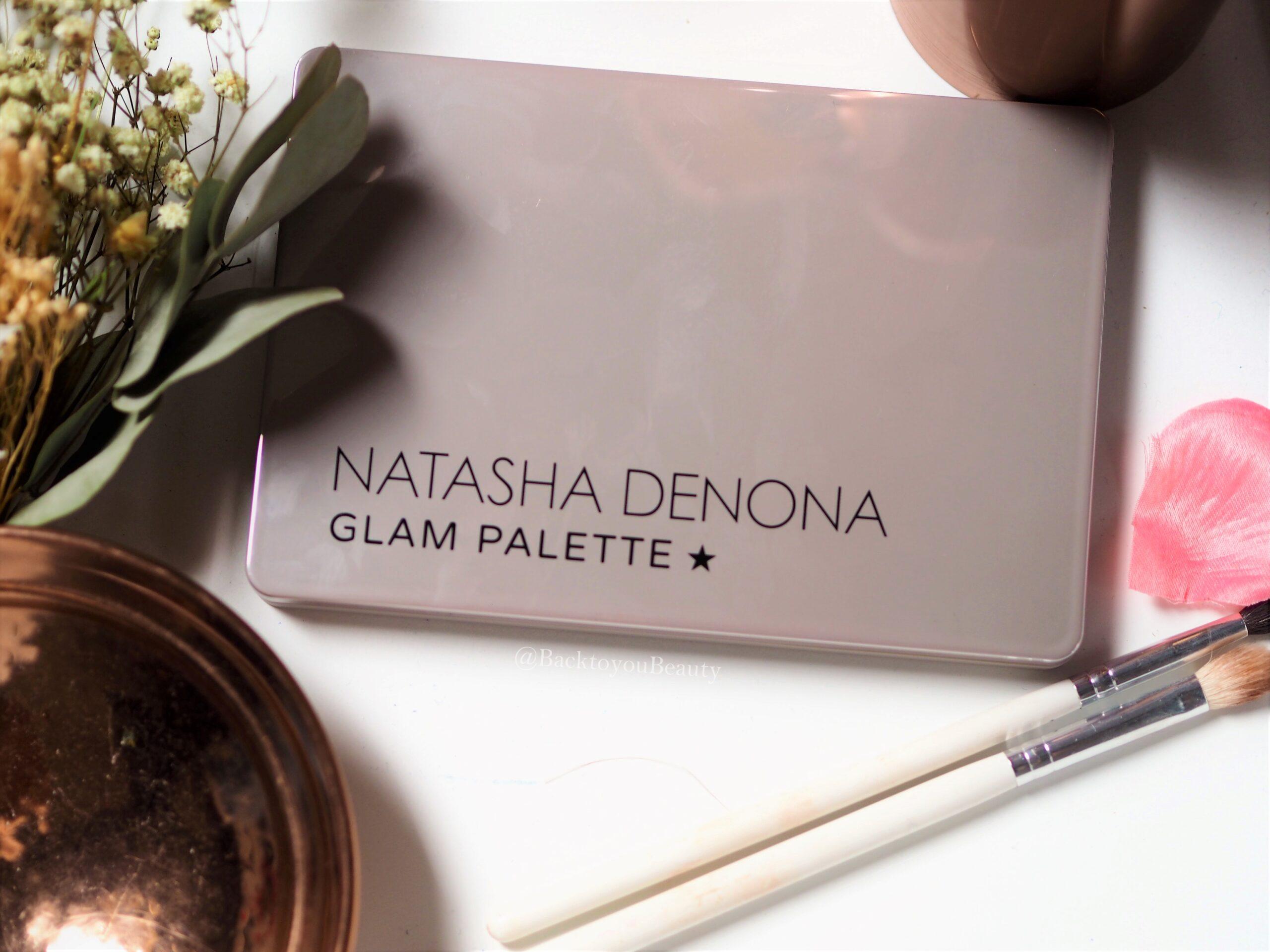 Natasha denona Glam Palette packaging