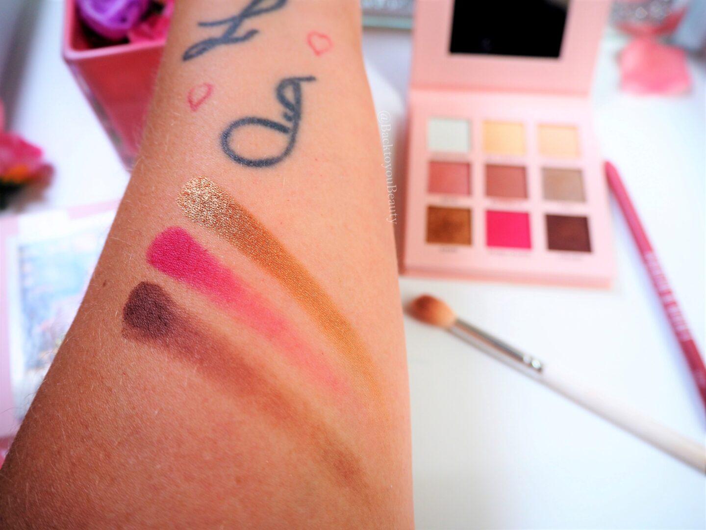 Rachel x Make up rev palette swatches part 2