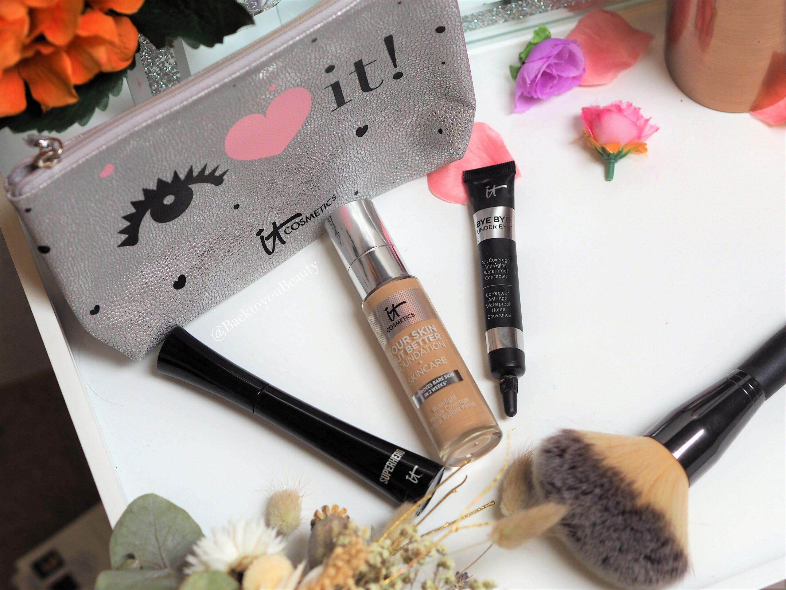 It Cosmetics qvc uk tsv october flatlay