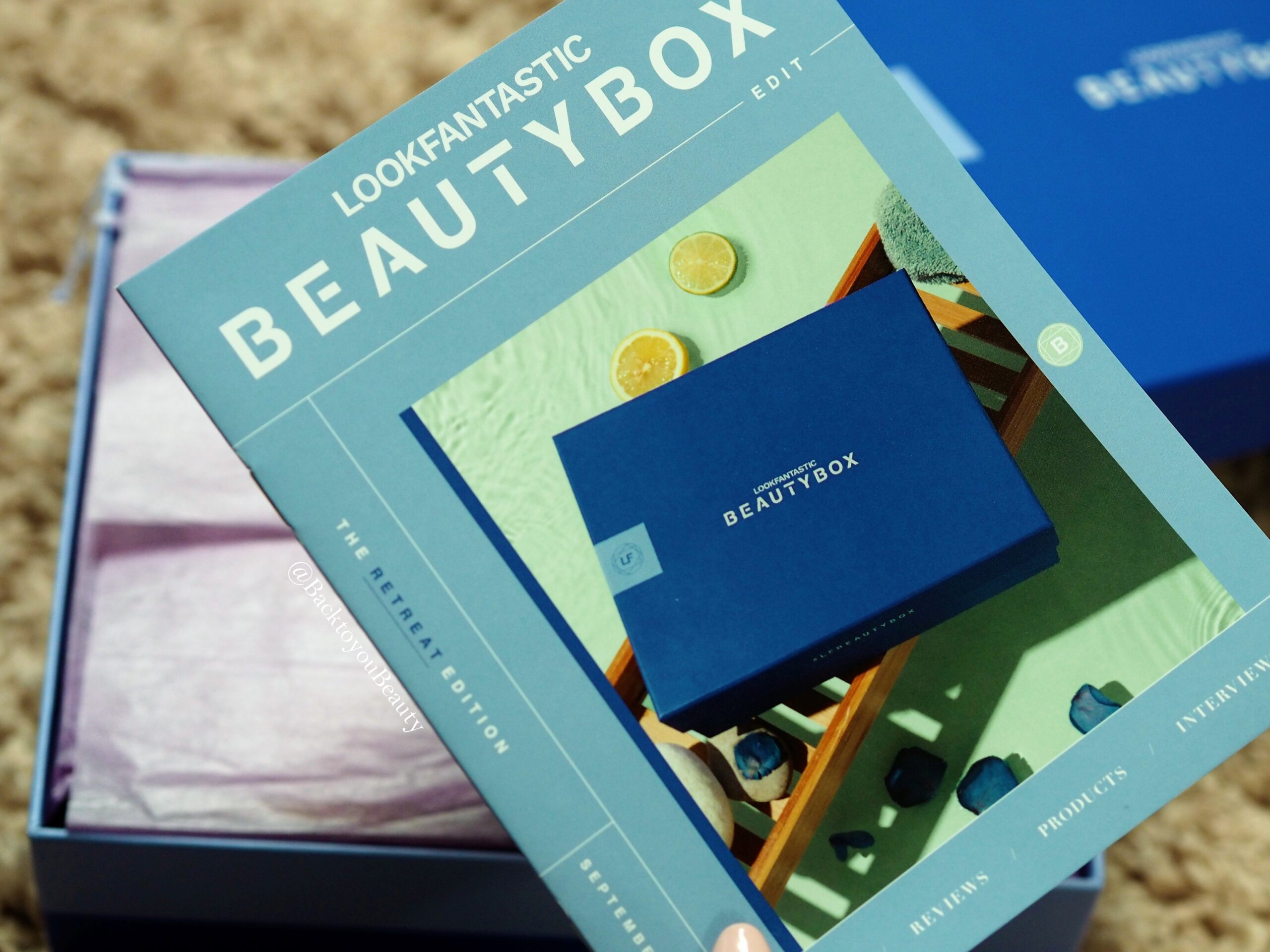 Look fantastic sept beauty box