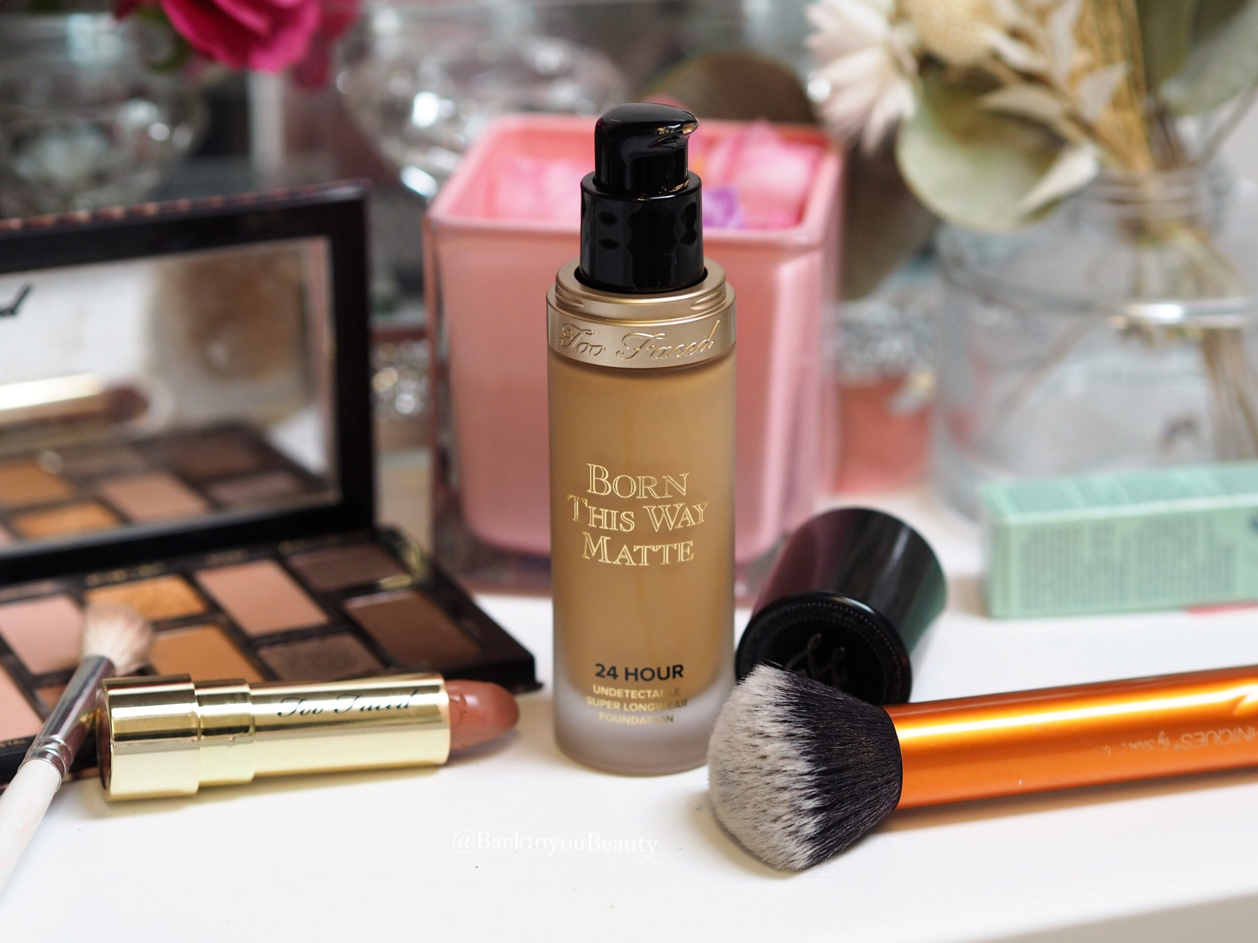 Too Faced Born This Way Matte Foundation Warm Beige
